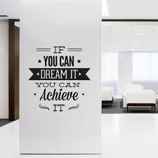 Interior Design Quotes by Wall Decal Quotes For Office Home Interior Design Ideas