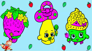 shopkins cake coloring pages for kids videos game youtube