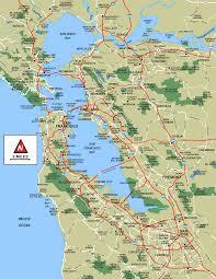 San Francisco Bart Map San Francisco Bart System Map Railway U2022 Mapsof Net