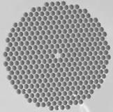 standard hexagonal PCF