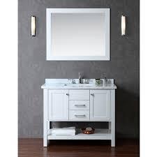 Bathroom Vanities 42 Inch by Bayhill 42 Inch Single Sink Bathroom Vanity Set Free Shipping