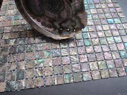 Mosaic Tiles For Kitchen Backsplash Abalone Shell Green Mosaic Tile Kitchen Backsplash Tiles Mother Of