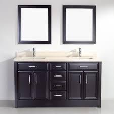 Wayfair Bathroom Mirrors by 63 Inch Furniture Wayfair Caledonia Double Bathroom Vanity Set