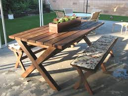 Wooden Folding Picnic Table Plans by Ana White Ashley U0027s X Bench For X Picnic Table Diy Projects
