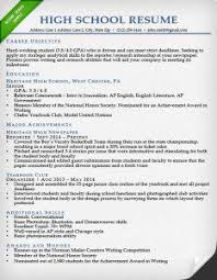 Samples Of Resumes For Highschool Students by Education Section Resume Writing Guide Resume Genius