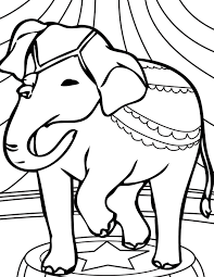 circus coloring pages olegandreev me