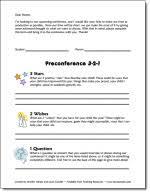 Create a Google Docs Spreadsheet for your checklist  I named mine Homework    Checklist
