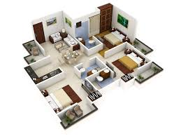Small 3 Bedroom House Floor Plans by 3 Bedroom House Designs 3d Buscar Con Google Grandes Mansiones