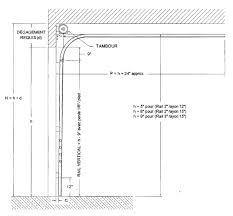 taille de cadre photo dégagement requis cadrage de la porte calcul architectes garaga