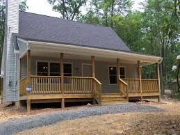 one level home plans with porches big house plan