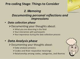 Data analysis section of dissertation