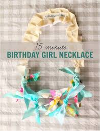 birthday necklace 15 minute diy project a 3 year old can