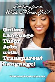 Tutoring Job Resume Home Based Online Tutor Jobs With Transparent Language
