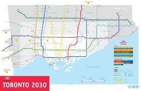 Hamilton Canada Map One Ttc Map To Rule Them All