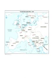 Europe After Ww1 Map by Changes In Europe U0027s Countries After Wwi Jack U0027s History Journal
