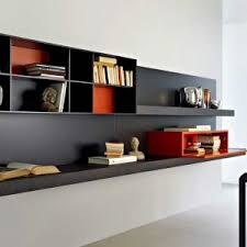 Hanging Bookshelves Ikea by Contemporary Chosolate Brown Wooden Wall Bookcase For Cd Storage