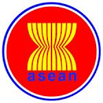 ศูนย์พันธกิจประชาคมอาเซียน - คำขวัญ ตราสัญลักษณ์ ธง