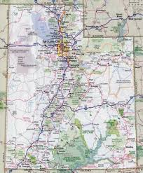 United States Map Major Cities by Large Detailed Roads And Highways Map Of Utah State With All
