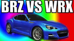 Is The Subaru Brz Awd 2011 Subaru Wrx Vs Brz Which One Youtube