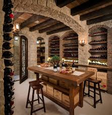 home bar room designs wine cellars tasting room and stone walls