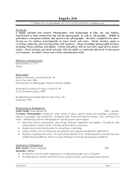 sample of special skills in resume personal qualifications on resume free resume example and photography resume letter sample photography skills resume