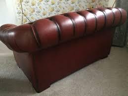Preloved Chesterfield Sofa by Oxblood 2 Seater Chesterfield Sofa U2013 Loopon Sofa