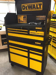 black friday home depot tool box dewalt 40 in 11 drawer rolling bottom tool cabinet and top tool