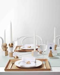 Black Blue And Silver Table Settings 23 Diy Wedding Centerpieces We Love Martha Stewart Weddings