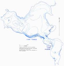 Hydrology Map Hydrology Of The Oklawaha Lakes Area Of Florida Lake Harris And