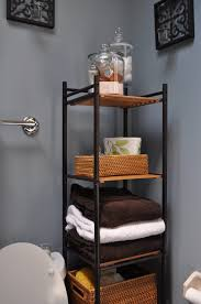 Bathroom Shelf With Hooks 44 Best Small Bathroom Storage Ideas And Tips For 2017