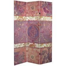 pink room dividers you u0027ll love wayfair