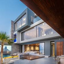 Villa Modern by Modern Oceanfront Luxury Villa In Bahrain Idesignarch Interior