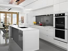 modern white kitchen design stylish the best and modern white image of modern white kitchen decor
