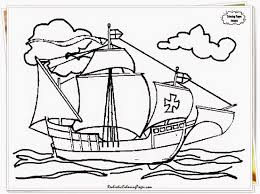 christopher columbus coloring pages best coloring pages