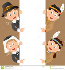 thanksgiving and indians thanksgiving pilgrims and indians eps stock photos image 16211213