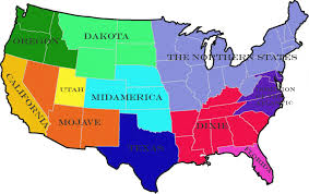 Map Of The New England States the balkanized usa u2013 rooktopia