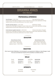 Best Resume Header Format by Best Resume Format Catchy Resume Mycvfactory