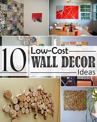 Decorate Your Home For Cheap by Cheap Wall Decoration Ideas Jumply Co