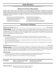 Online Marketing Manager Resume by Marketing Manager Sample Resume Gallery Creawizard Com