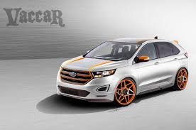 ford previews explorer edge concepts for sema photo u0026 image gallery