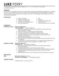 educational attainment example in resume cover letter sample resume finance business finance resume sample cover letter finance manager resume financial systems sample finance samplesample resume finance extra medium size