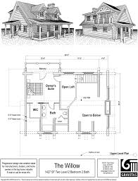 1 Bedroom Log Cabin Floor Plans by Cabin Designs With Lofts Small Log Cabins With Lofts Cabin Lofts