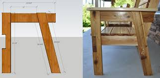Plans To Build A Picnic Table Bench by Free Patio Chair Plans How To Build A Double Chair Bench With Table