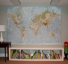 World Map Pinboard by Ikea World Map Twoinspiredesign