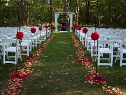 lovely backyard wedding ideas cheap wedding ideas