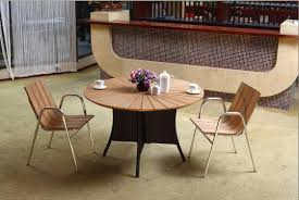 Best Wood Patio Furniture - best outdoor wood dining tables and extraordinary outdoor