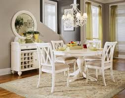 cornelia high gloss white dining room set from coaster coleman