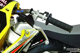 motocross action magazine mxa u0027s 2015 suzuki rm z250 motocross test