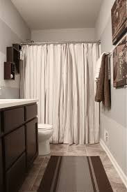 the yellow cape cod boy u0027s bathroom reveal using two shower curtains
