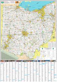 Van Wert Ohio Map by Pages Ohio Transportation Map